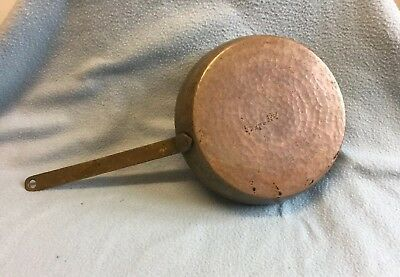 Vintage Handmade Hammered Copper Frying Pan 20cms