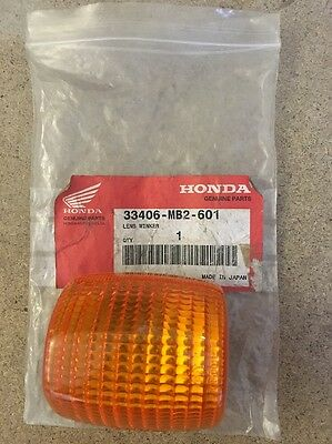 Genuine New Honda Vf1000r Indicator Lens 33406-MB2-601