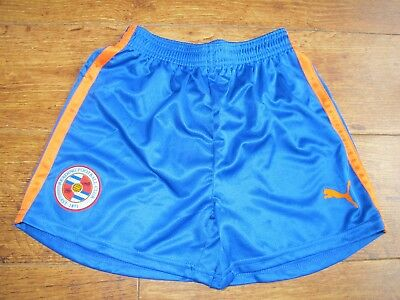 "Reading FC football shorts blue orange  24 26 ""  28 BOYS BOYS SOCCER ELM PARK"