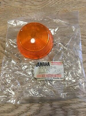 Genuine New Yamaha Fs1-dx 1977 Indicator Lens 1Y1-83312-01