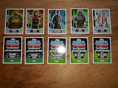 Star wars Karten Force Attax