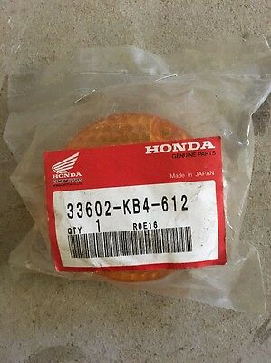 Genuine Honda Cg125 Right Rear Indicator Lens 33602-KB4-612
