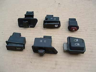 Daelim S1 125 2011 Mod Handlebar Switches Good Cond