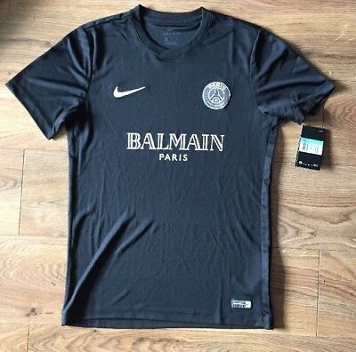 new concept c896b 95983 MENS NIKE PSG Paris Saint Germain Balmain Football Top Size M Dri Fit