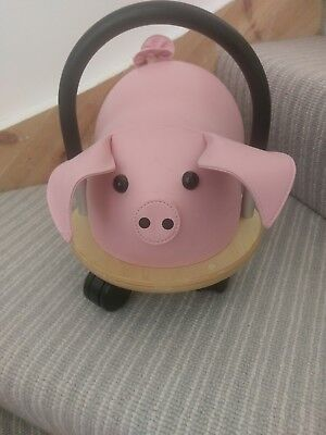 Wheely Bug Pink Pig ride on (small) 1 year +