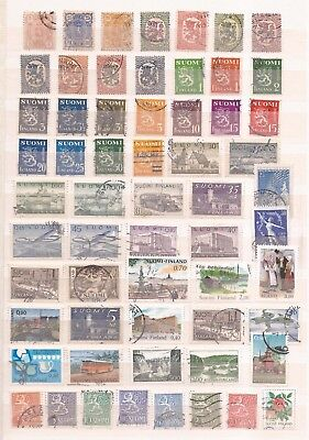 Finnland ( Finland )  -  Lot Of Stamps