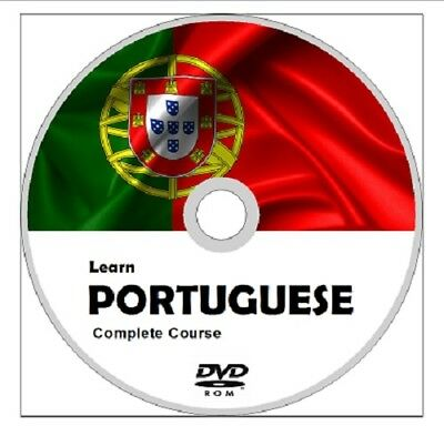 Learn to speak PORTUGUESE COMPLETE Language Course DVD MP3 AUDIO PDF TEXTBOOKS