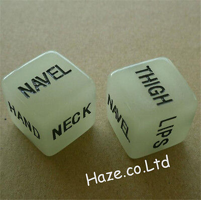 Drinking Decider Die Games Bar Party Pub Luminous Dice Funny Toy Hot