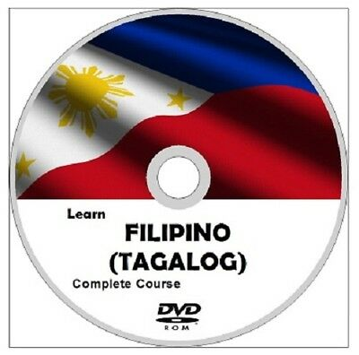 Learn FILIPINO (TAGALOG) Language Course DVD ROM MP3 AUDIO & PDF TEXTBOOKS