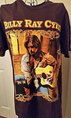 Billy Ray Cyrus Concert Tour T-Shirt Size Large Official 2007 100% Cotton
