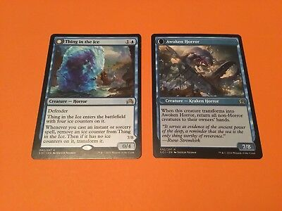 MTG Magic the Gathering ~ Thing in the Ice ~ Shadows Over Innistrad ~ NM