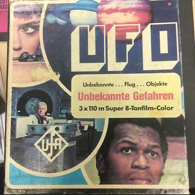 UFO SUPER 8MM COLOUR & SOUND FILM : Identified GERRY ANDERSON UFA 1978