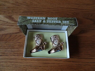 Alabama USA Western Boot S&P Set  Heart of Dixie-Confederate-Made in Japan