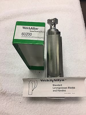 Welch Allyn 60200 LG Hook On Laryngoscopes
