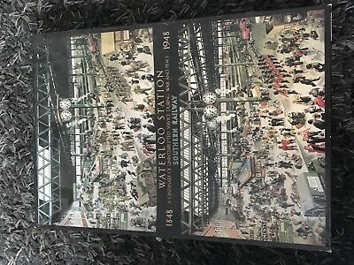 "Gibsons 1000 Piece Jigsaw Puzzle ""Waterloo Station""."