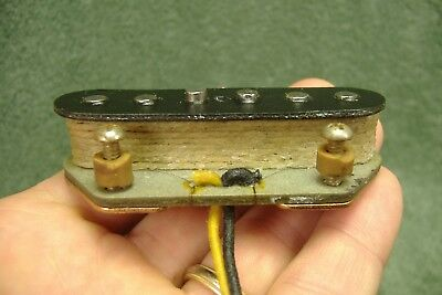 Vintage 1966 Fender Telecaster Bridge Pickup old grey bottom part 6.65K NR