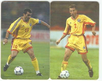 Phone Cards with Romanian footballers Gheorghe Hagi