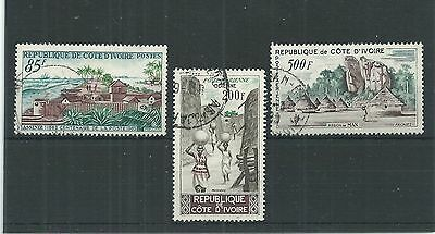 Ivory Coast 1962 Postal Centenary Set Fine Used