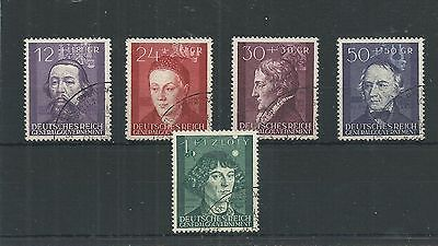 Germany Occupation Poland 1944 Set Fine Used