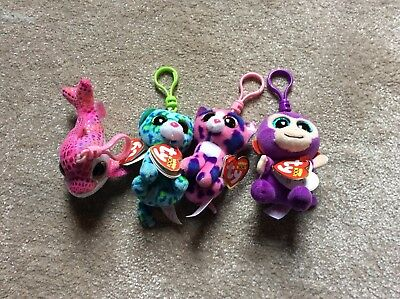 Ty beanie boo keyrings - mixed collection