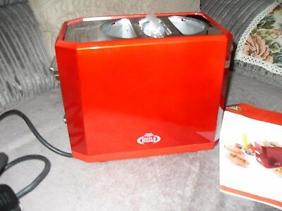 Hot Dog Maker From, Red, Electric, From  Giles & Posner