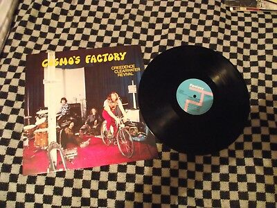 Creedance Clearwater Revival - Cosmo's Factory - Vinyl LP 1970 - John Fogerty VG