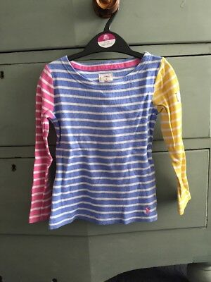 Joules Girls Long Sleeved Top Age 5 Years