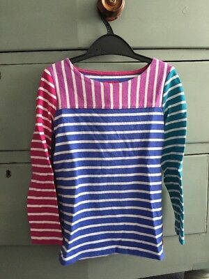 Joules Girls Long Sleeve Top Age 5-6 Years