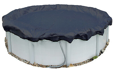 Winter Pool Cover Above Ground 28 Ft Round Arctic Armor 8Yr Warranty w/ Clips