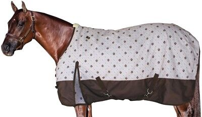 John Deere By Professionals Choice Equine 600D Winter Blanket (Chocolate Brown)