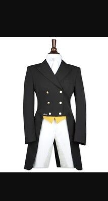 Pikeur Shadbelly Long Tail competition jacket black
