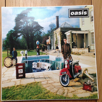 Oasis Be Here Now, Creation Records CRELP 219, Original Pressing