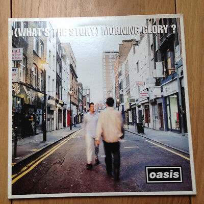 Oasis What's The Story Morning Glory Vinyl Record 1st Edition