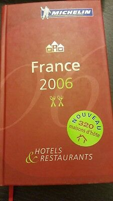 guide michelin rouge 2006