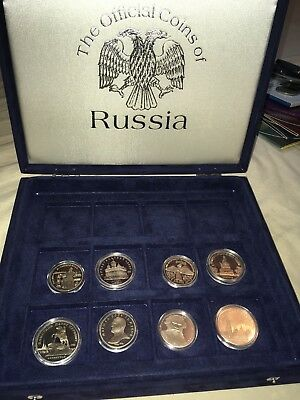 The Official Coins Of Russia Bunc With Certs Joblot