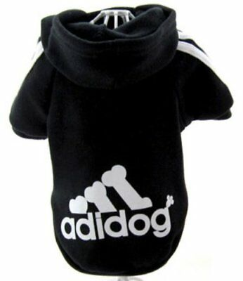 Pet Dog Adidog Puppy Sweater Hoodies Coat Apparel