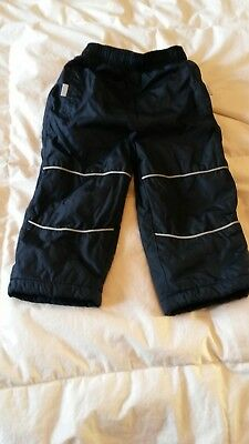 Lined waterproof trousers 12-18 months
