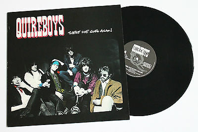 "QUIREBOYS There She Goes Again 12""p/s UK 1988 Survival SURT46"
