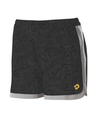 (Large, Black Print) - Demarini Yard-Work Training Shorts. Huge Saving