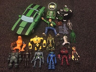 Ben 10 Car and Figure Bundle toys collection