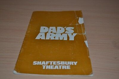 Dads Army  1975 Shaftesbury Theatre Programme - cover scruffy
