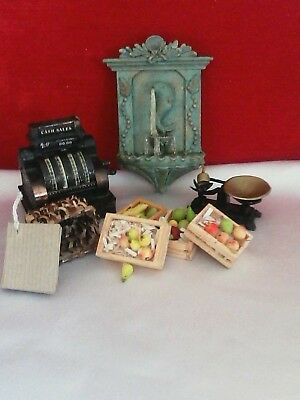 12th scale dolls house miniatures mixed lot