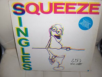 """Squeeze  – """"Singles - 45's And Under""""  LP (1982) EX  / AMLH 68552   / LOT5"""