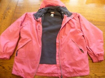 Pink MUSTO Snug Performance Jacket Age 9 - 11