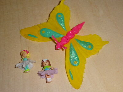 Polly Pocket mini Butterflyer Fee Schmetterling 100 % complete Fairy