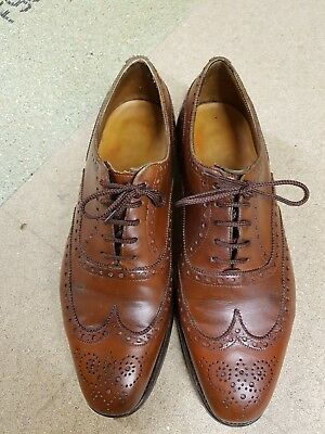 vintage edward green shoes uk size 7.5 D narrower width.
