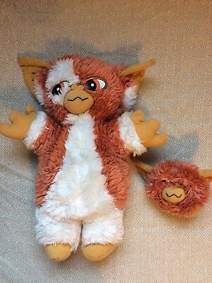 Gizmo Gremlins 2 Soft Toy, With Small Mogwai