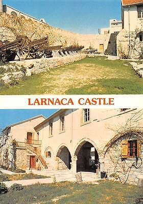 Cyprus Larnaca Castle Cannons Chateau