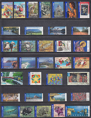 Collection Of AUSTRALIA Australian International Post Commemorative Used Stamps