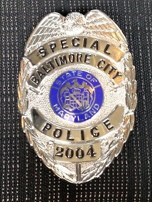 Old / Defunct Special Baltimore City Police ## MD Badge HM'd GaRel 8-91 Maryland